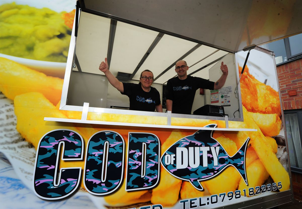 The couple started their new business after being made redundant and haven't looked back since