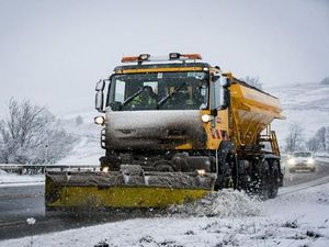 Highways teams have been requested to grit the roadway