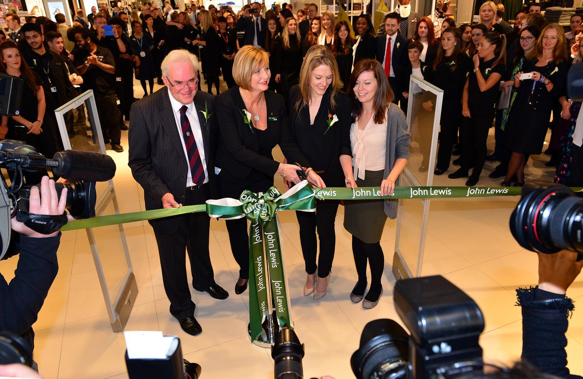 There was huge excitement when John Lewis opened its Birmingham store in 2015