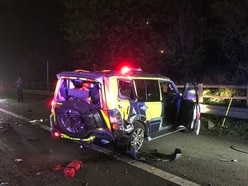 M6 crash drama among spate of smashes on Midlands roads