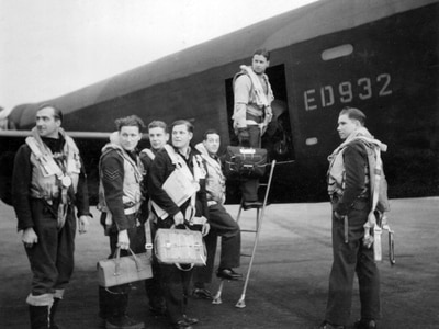 Did village sweet shop have a role that sucked in Dambusters mission?