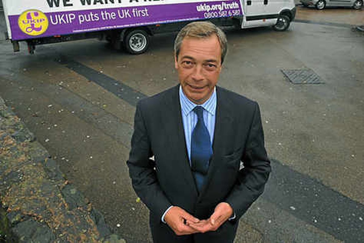 Ukip leader is open to coalition with Tories