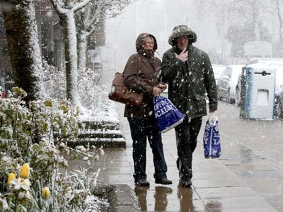 UK braced for battering as snow, rain and gales sweep in