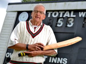 Jamie Fleet 65 from Cannock, playing his 53rd year