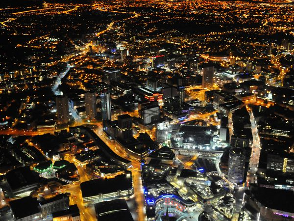 Birmingham at Night