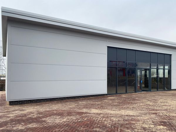 Hortons' Estate has completed work on the new Greggs shop at Cannock Gateway Retail Park