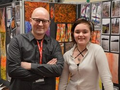 Sandwell students attend talk from arts leader