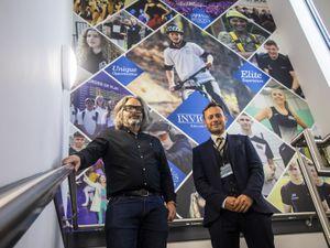 Simon Grigg, Managing Director, Think Creative Studio with Martin Lopez, Communications, Media & Marketing Director, Invictus Education Trust