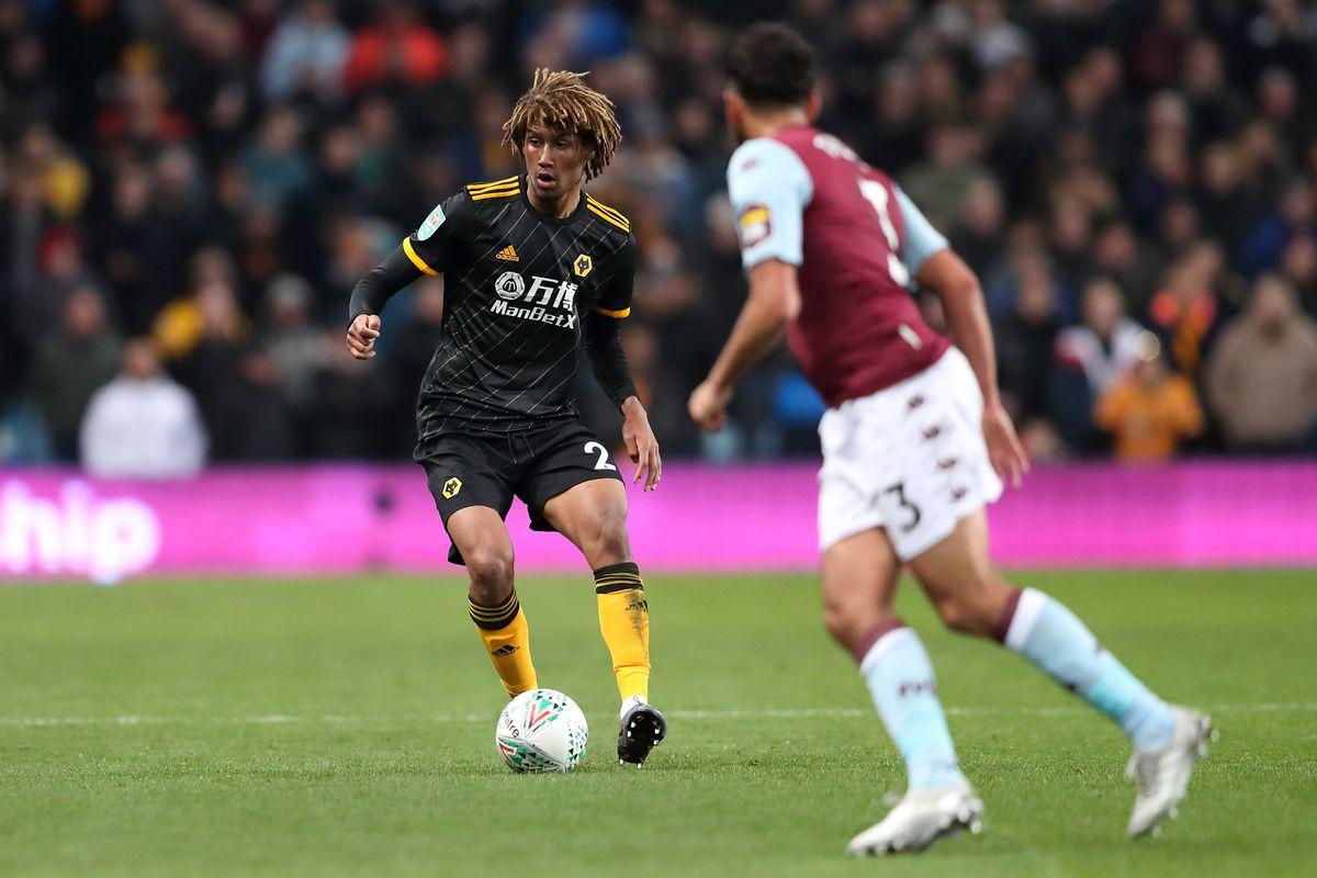 Dion Sanderson of Wolverhampton Wanderers (AMA)