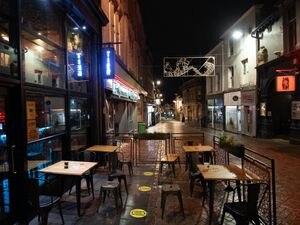 Empty bar area