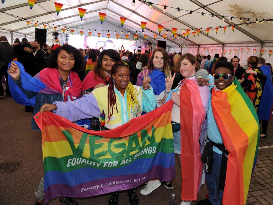A previous Wolverhampton Pride event