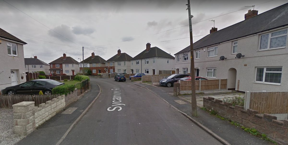 Sycamore Road, in Tipton. Photo: Google Maps