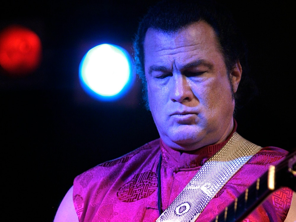 Steven Seagal to bring in conversation event to ...