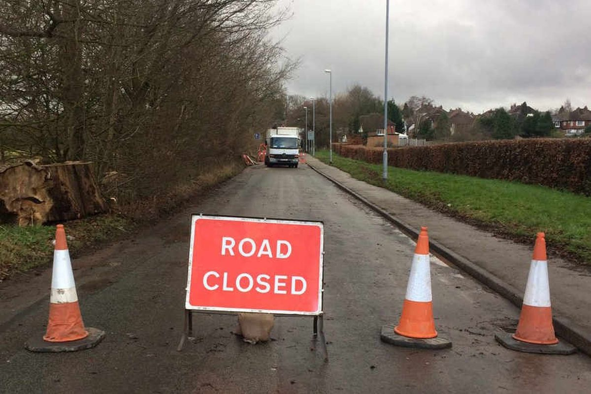 Chapel Lane is closed for roadworks once again (Library picture)