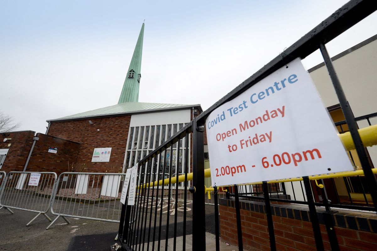 A rapid test centre is now up and running at St Joseph's Church in Wolverhampton