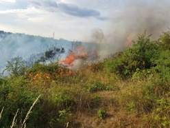 Crews called to tackle grass fires