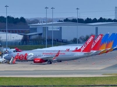 Skies above West Midlands quiet as most Birmingham Airport flights cancelled