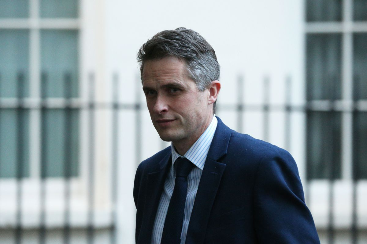 Gavin Williamson says Ian Austin's backing for the Tories sends 'a very powerful message'