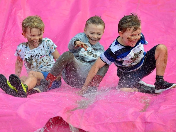 A splashing day out! Pretty Muddy event brings fundraisers to Sandwell Valley - PICTURES and VIDEO
