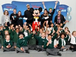 Diversity star Ashley Banjo brings magic of Disney to Oldbury youngsters