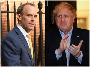 Foreign secretary Dominic Raab will be leading the Government while Prime Minister Boris Johnson is being treated in hospital