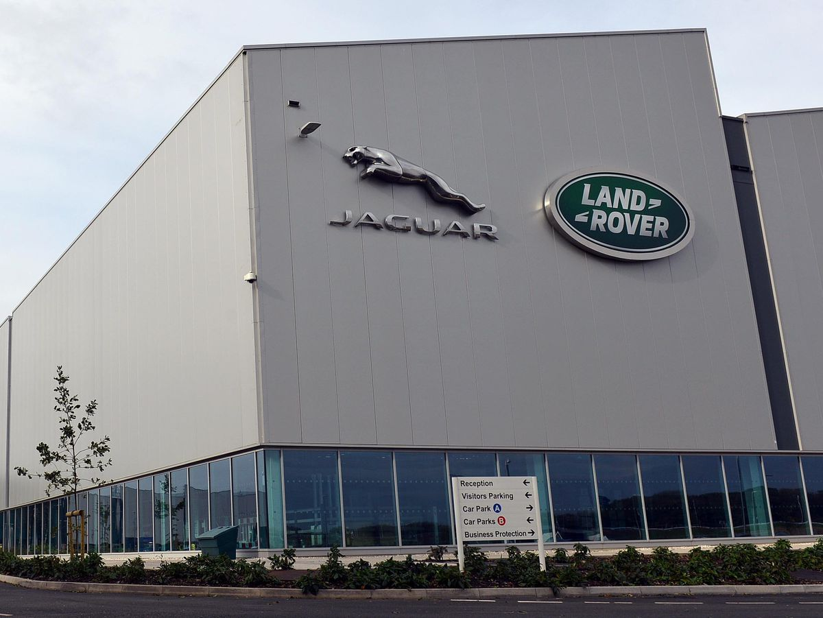 The Jaguar Land Rover site at the i54 in Wolverhampton, where electric drive units will be built