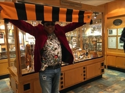 Michael Jackson's brother Tito arrives at Molineux to show support for Wolves
