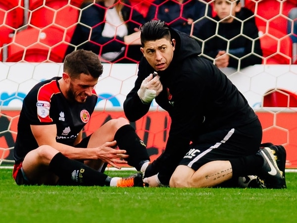 Fears for Walsall's Florent Cuvelier after latest injury