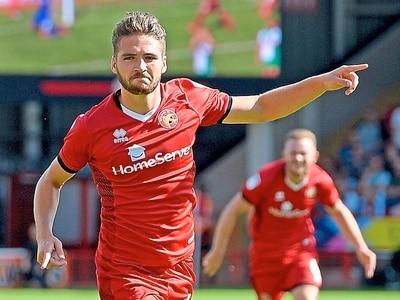 Late Walsall brace is career highlight for Luke Leahy