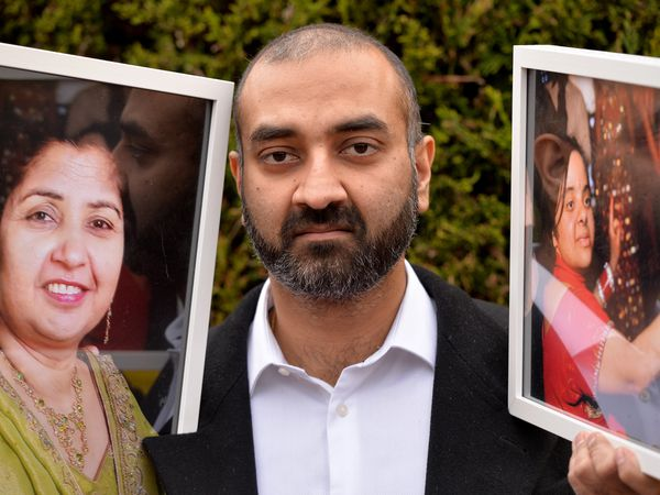 Indy Bains from Wolverhampton is fundraising for The Royal Wolverhampton NHS Trust Charity following the deaths of his sister and mother