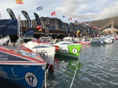 Gale-force winds delay start of transatlantic rowing challenge