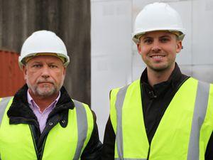 Intelliclad's Darron Brough, left, and Ryan Brough