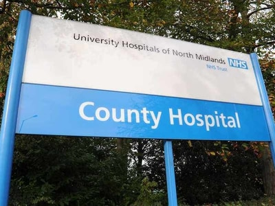 Stafford Hospital trust third worst in country for A&E waiting times