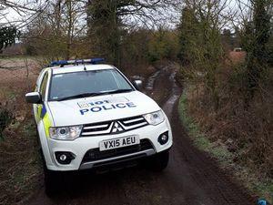 Police operation near Bridgnorth