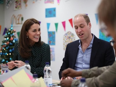 William speaks out about scourge of Spice during visit to homeless charity