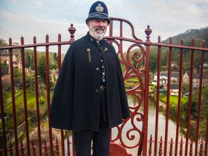 Blists Hill's Victorian singing policeman Guy Rowlands