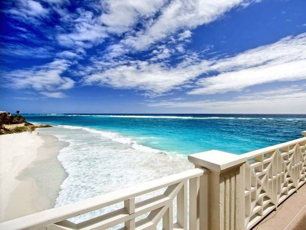 Crane Beach in Barbados, which is one of 16 new additions to the green travel list