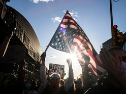 Unrest overshadows peaceful US protests
