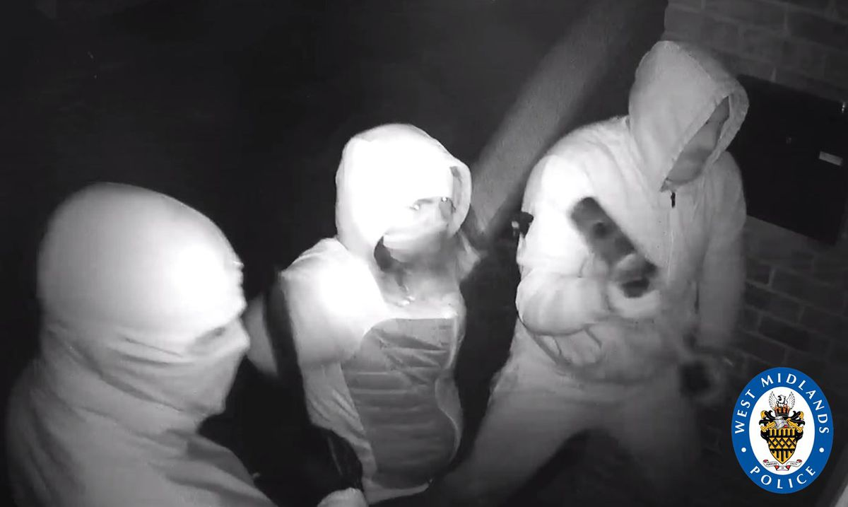 Police are appealing to trace these three men