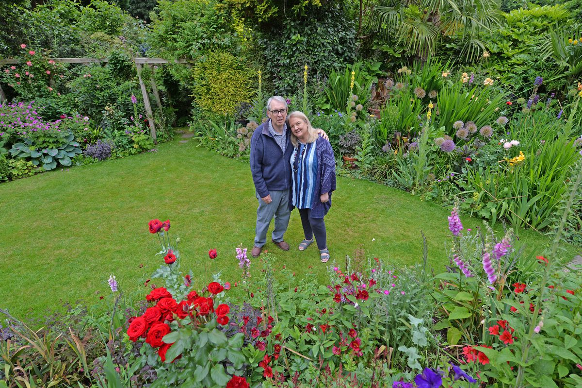 Brian and Anne Bailey have been welcoming people to their garden for 10 years