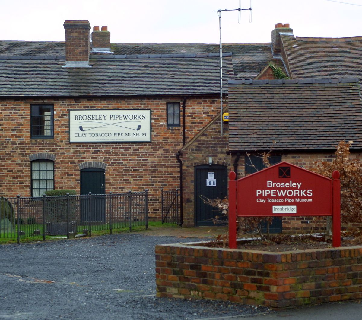 One of the earliest lottery projects in Shropshire was the restoration of the Broseley Pipeworks