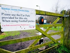 Posts and barriers installed to stop travellers returning to Wolverhampton playing fields