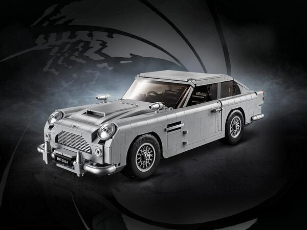 Lego is licensed to thrill as its recreates James Bond's Aston Martin DB5