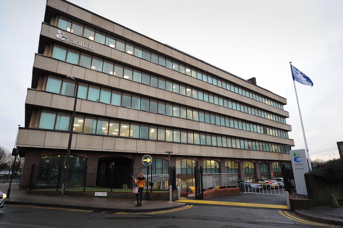 Carillion's former headquarters in Salop Street, Wolverhampton