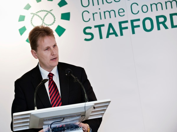 Crime Commissioner: Police are turning the tables on crooks in Staffordshire