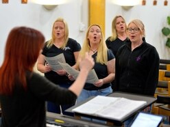 WATCH: RAF Cosford military wives sharing their lives through song