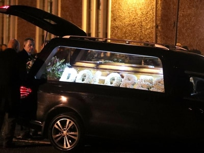 Dolores O'Riordan's family and friends gather in Co Limerick ahead of funeral
