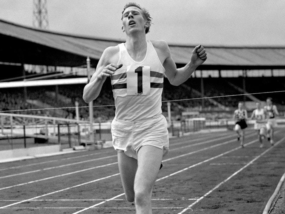 First man in history to run