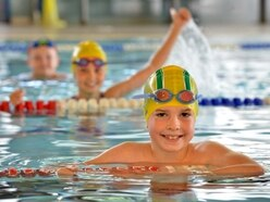 Young swimmers delighted to be back in action