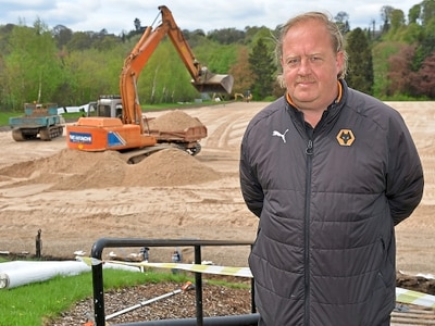 Wolves install new pitches to improve passing game